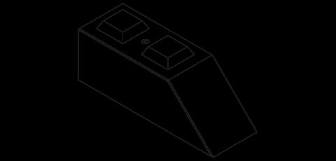 Schuine stapelblokken