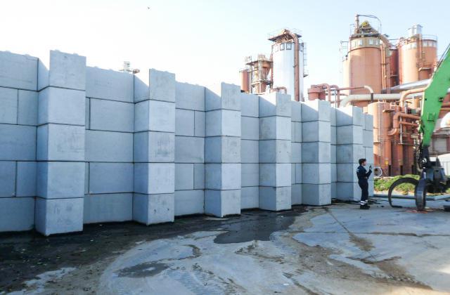 Modulobloc stapelbare betonblokken bij Unilin