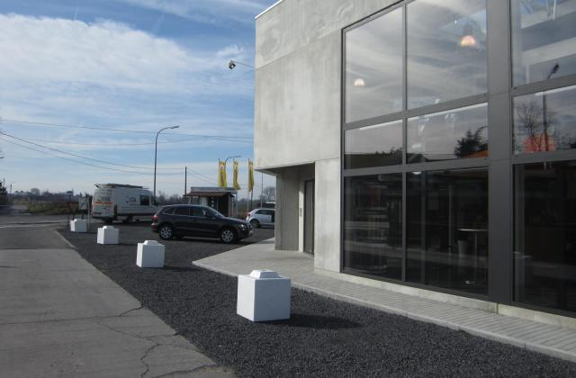 Modulobloc stapelbare betonblokken